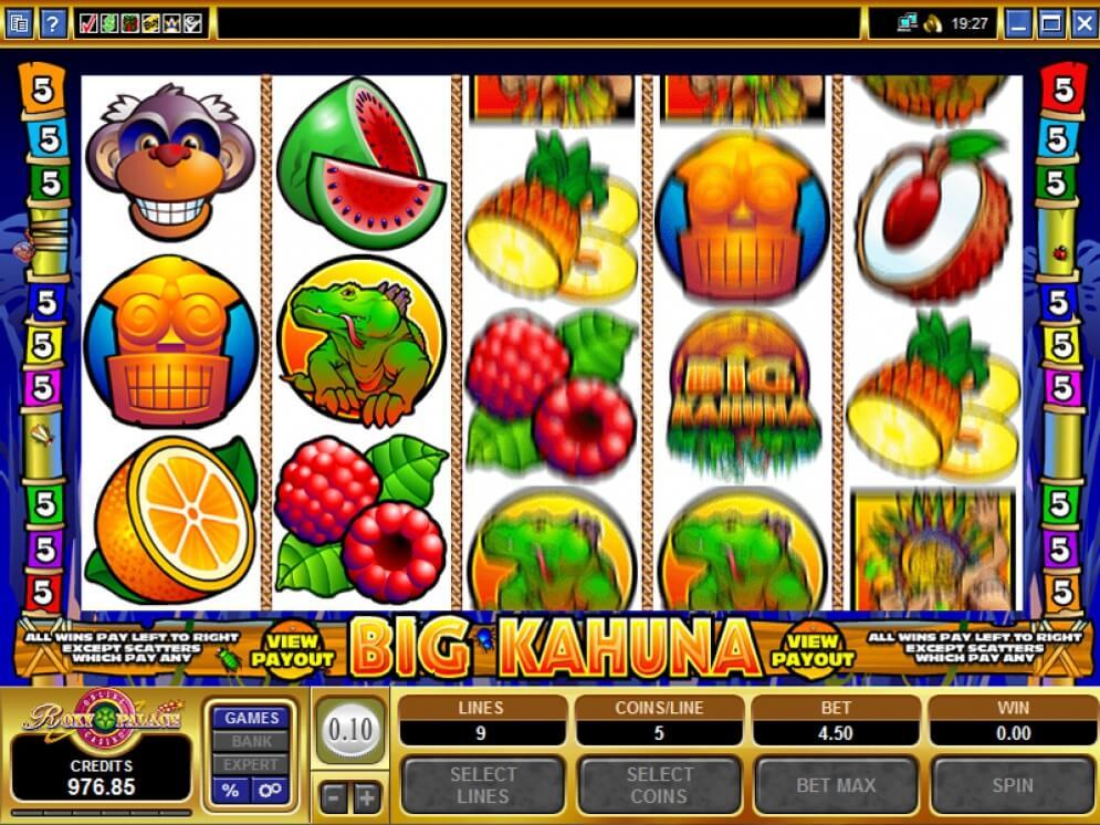 คำศัพท์สล็อต เรียนรู้ไปกับเกมนี้ Big Kahuna